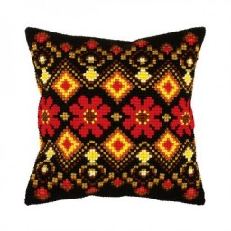 Cross Stitch Kit Pillow art.9394
