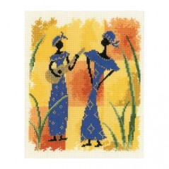 Cross Stitch Kit African Melody art. 2002/75.092