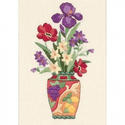 Embroidery Kit Elegant Floral art. 6230