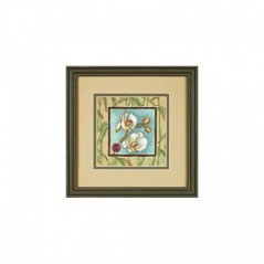 Needlepoint Mini Kit ASIAN ORCHIDS art. 7230