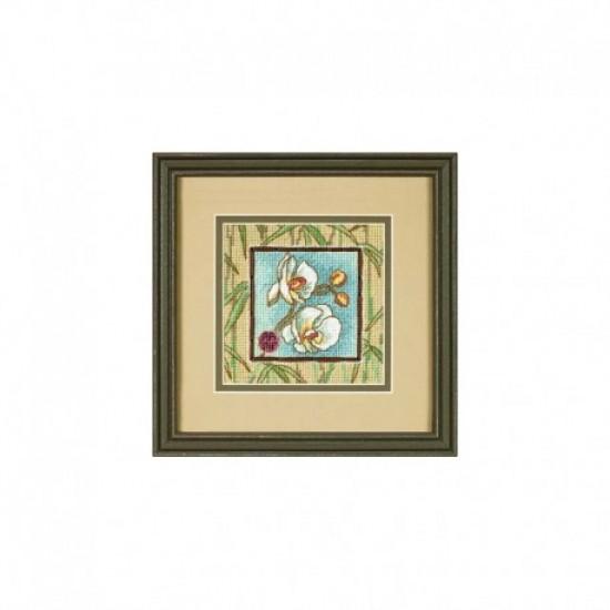 Needlepoint Mini Kit ASIAN ORCHIDS art. 7230