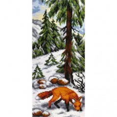 Cross Stitch Kit Fox art. 9806 with printed Aida