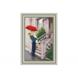 Cross Stitch Kit Welcome home CHM-039