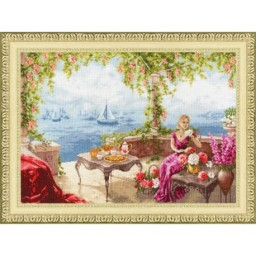 Cross Stitch Kit MORNING BY THE SEA CHM067