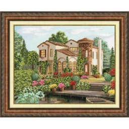 Cross Stitch Kit COUNTRY HOUSE DL032 Pre-order
