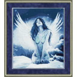 Cross Stitch Kit Snowy angel F-026