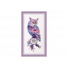 Cross stitch kit Dream catcher Owl F-034