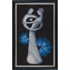 Cross Stitch Kit Birth LZH-001