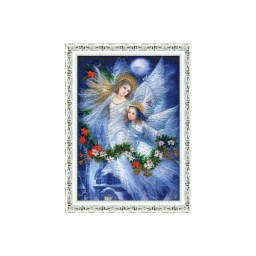 Bead embroidery kit Merry Christmas RT-069