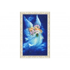 Bead embroidery kit Angel of dreams RT-074