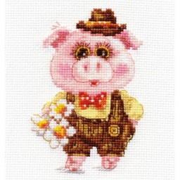 Cross Stitch Kit Afanasiy art. 0-184 Pre-order only