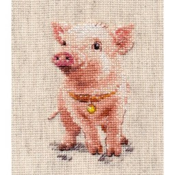 Cross Stitch Kit Piggy art. 0-185