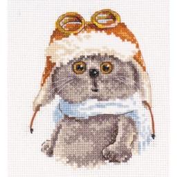 Cross Stitch Kit Basik pilot art. 0-189