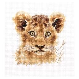 Cross Stitch Kit Lion cub art. 0-194