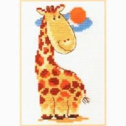 Cross Stitch Kit Giraffe art. 0-39