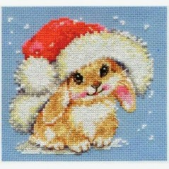Cross Stitch Kit Winter Bunny art. 0-95