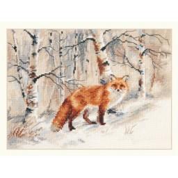 Cross Stitch Kit Fox art. 1-32