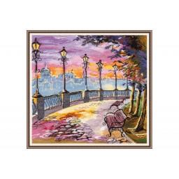 Cross Stitch Kit Enbankment art. 1007