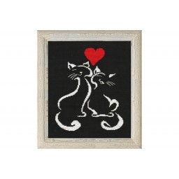 Cross Stitch Kit L'amour art. 1008 (cat)