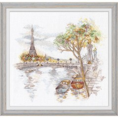 Cross Stitch Kit Autumn in Paris art. 1044