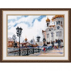 Cross Stitch Kit On the bridge art. 1051