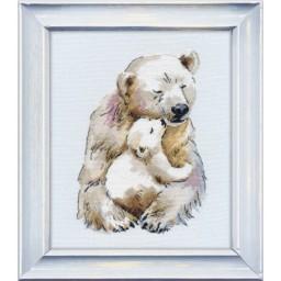 Cross stitch kit Mother's warm art. 1144