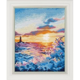 Cross Stitch Kit Sunset on the sea art. 1182