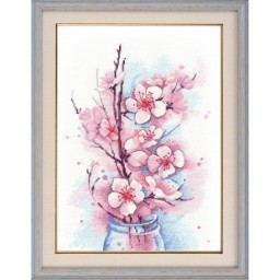 Cross Stitch Kit Apple Blossom art. 1187