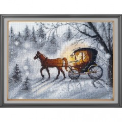 Cross Stitch Kit Evening walk art. 1188