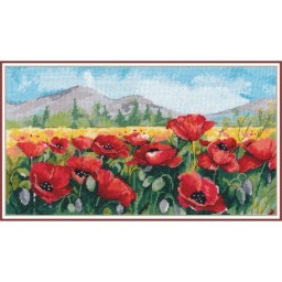 Cross Stitch Kit Poppies art. 1190