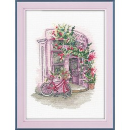 Cross Stitch Kit Favorite cafe art. 1204