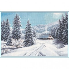 Cross Stitch Kit Winter Day art. 1205