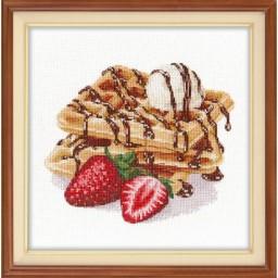 Cross Stitch Kit Viennese Waffles art. 1236