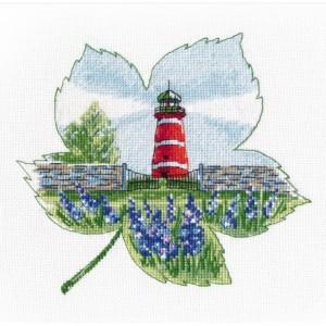 Cross Stitch Kit The lighthouse of Narsholmen art. 1270