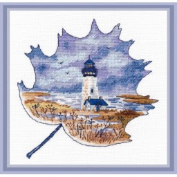 Cross Stitch Kit Yaquina Head Lighthouse art. 1271