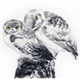 Cross Stitch Kit Owls in Love art. 1272