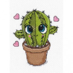 Cross Stitch Kit Little Cactus art. 1277