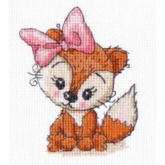 Cross Stitch Kit Little Fox art. 1278