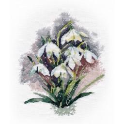 Cross Stitch Kit Snowdrops art. 1292