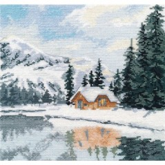 Cross Stitch Kit Lake Louise art. 1295