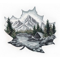 Cross Stitch Kit Alone With Nature art. 1296