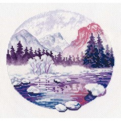 Cross Stitch Kit Purple Dreams art. 1299