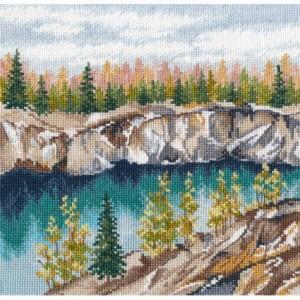 Cross Stitch Kit MARBLE CANYON. RUSKEALA art. 1306