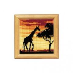 Cross Stitch Kit Giraffe 2002/40388