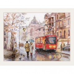 Cross Stitch Kit October in the city art. 3-49