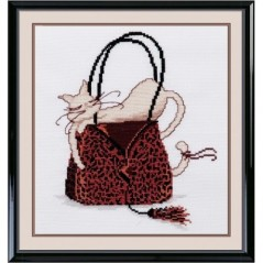 Cross stitch kit Beauty cat 4 art. 304
