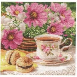 Cross Stitch Kit Morning Tea art. 5-12