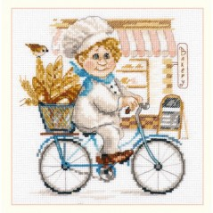 Cross Stitch Kit Baker art. 6-10