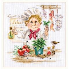 Cross Stitch Kit Chef art. 6-11