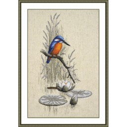Cross Stitch Kit Little bird art. 758